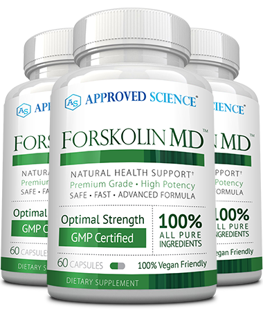 Forskolin MD Main Bottle